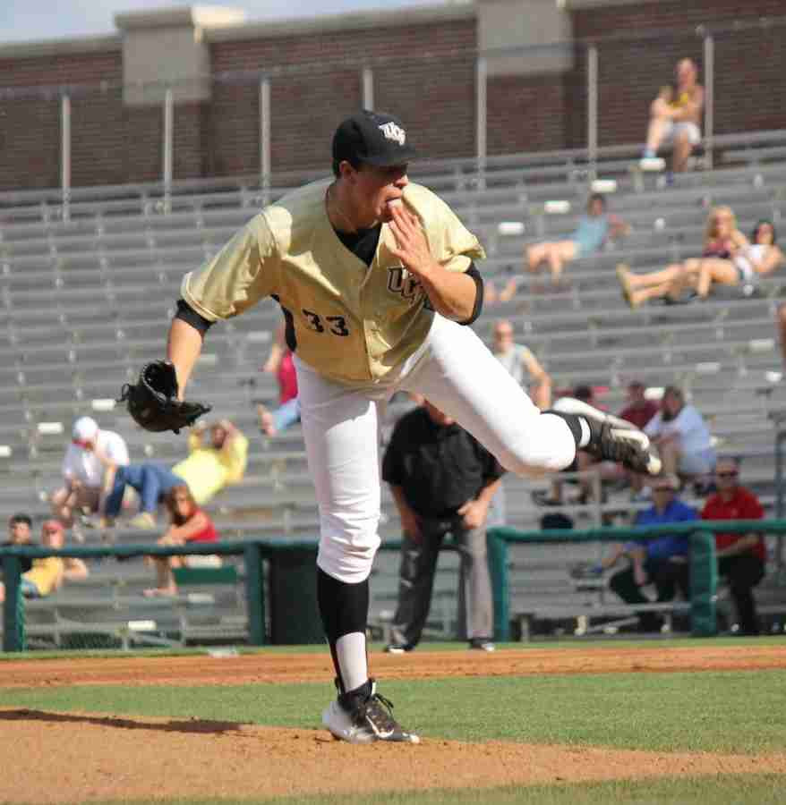 Harrison Hukari has been the Knights' top lefty pitcher out of the bullpen in 2015.