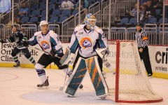 Solar Bears goalie Garret Sparks saved 37 shots on 40 attempts on Thursday night.