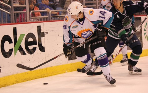 Johnny McInnis scored his third goal of the postseason in the 5-4 loss on Saturday night.