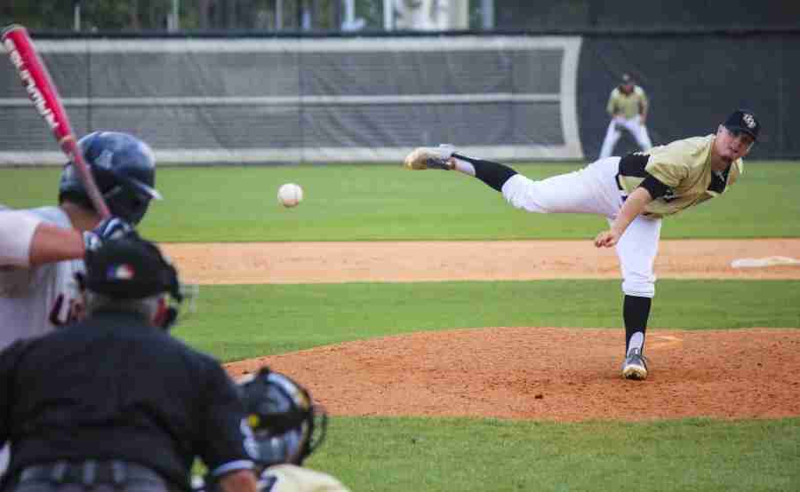 Zach Rodgers threw his second-straight complete game on Sunday, as the Knights defeated UConn 5-1.