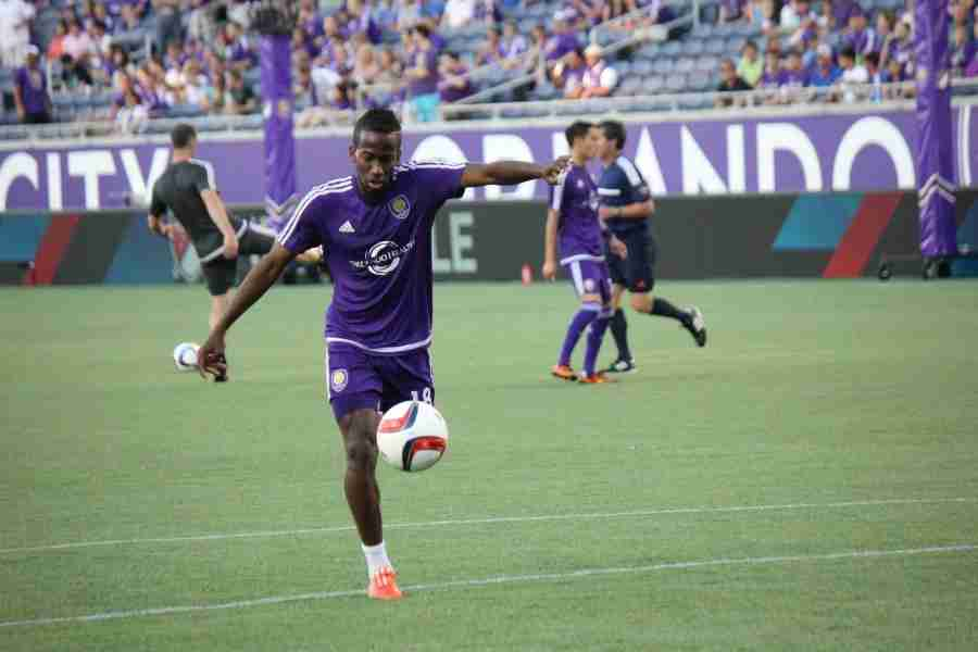 Kevin+Molino+is+one+of+a+few+usual+starters+that+will+get+the+call+in+the+starting+eleven+for+Orlando+City.