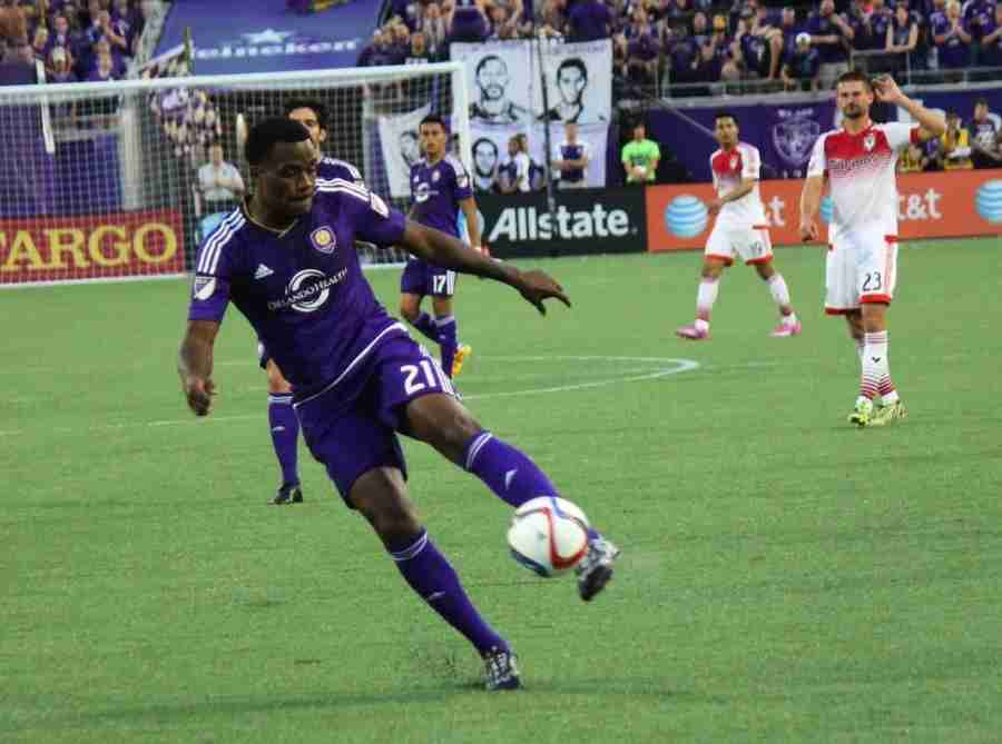 Cyle Larin scored in the 11th minute against DC United, but it wasn't enough for Orlando City.