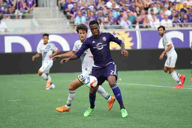 Cyle Larin is second on the team with four goals so far this season.