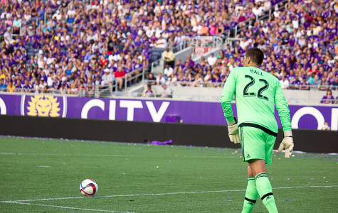 Tally Hall had a clean sheet in his Orlando City debut on Sunday.
