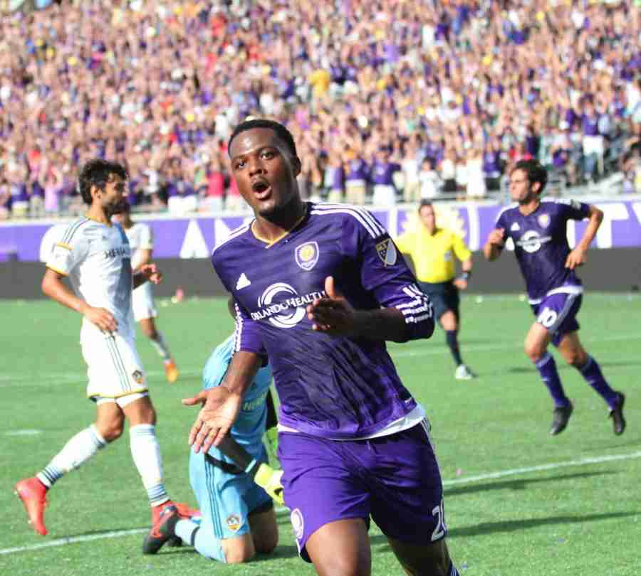 Cyle+Larin+scored+his+fourth+goal+of+the+season+during+the+4-0+win%2C+putting+him+in+a+tie+for+most+goals+on+the+club+with+Kak%C3%A1.