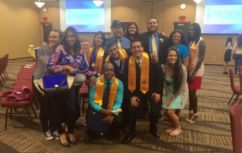 New members initiated into Phi Theta Kappa Honor Society