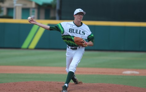 Jimmy Herget went 9-3  with a 2.95 ERA through 94.2 innings pitched so far this season for USF.