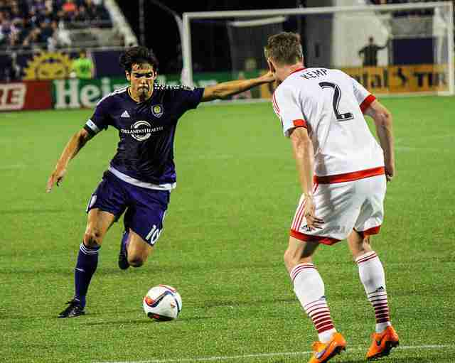 Kaka+scored+his+seventh+goal+of+the+season+on+Sunday%2C+putting+him+in+a+tie+for+third+on+the+MLS+scoring+list.