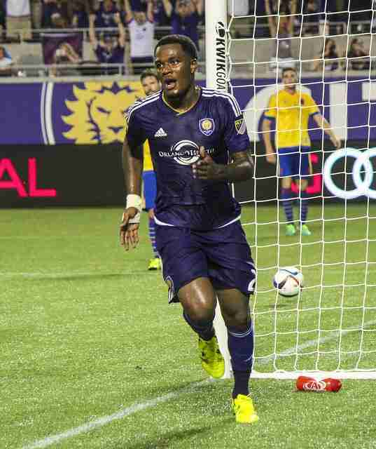 Cyle Larin has scored six goals so far during his rookie campaign with Orlando City.