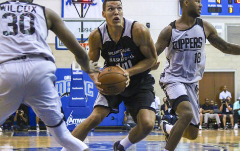 Aaron Gordon has averaged 22 points and 10.7 rebounds per game for the Magic through three summer league games.