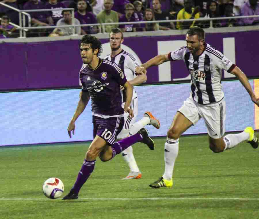 Kaka+scored+an+unassisted+goal+in+his+first+game+back+for+Orlando+City+after+his+red+card+suspension.