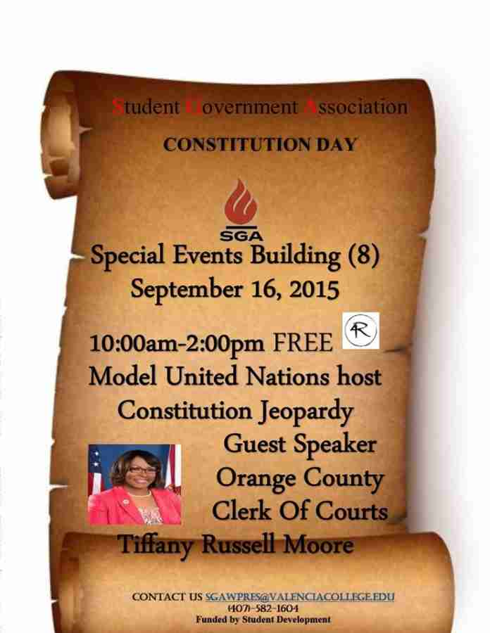 Constitution Day comes to West Campus