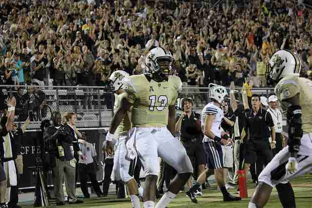 Justin+Holman+threw+for+2%2C952+yards+and+23+touchdowns+during+his+first+year+as+UCF%27s+starting+quarterback+in+2014.