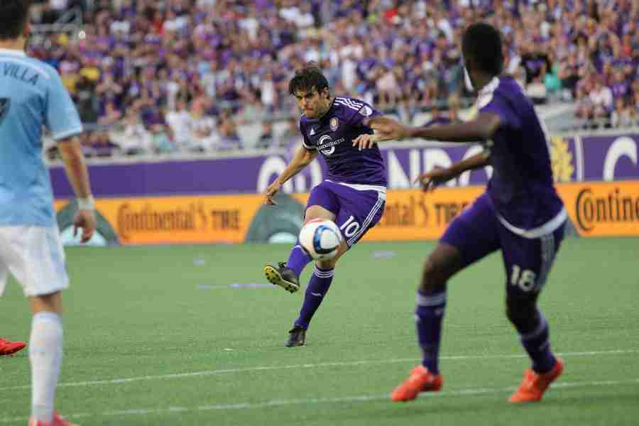 Kaká has nine goals and five assists in 25 MLS regular season games for Orlando CIty.