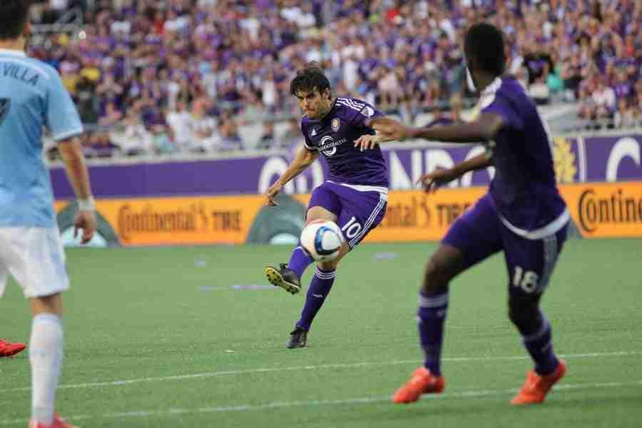 Kaká has nine goals and five assists in 25 MLS regular season games for Orlando CIty.