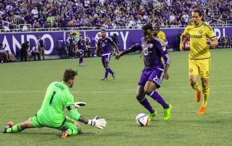Cyle Larin could break the MLS goal scoring record with a goal against Sporting KC on Sunday.