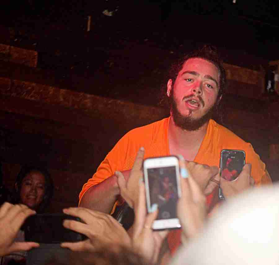 Post+Malone+at+Backbooth