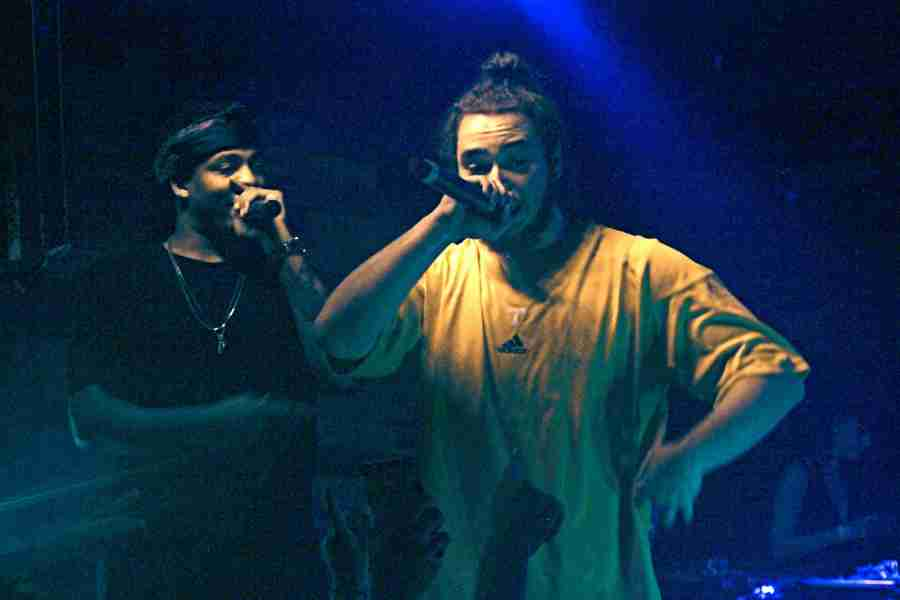Post Malone performs at Backbooth in Orlando, Florida, Monday, September 14, 2015 (Ty Wright)