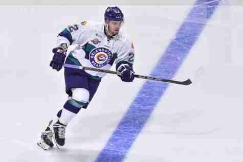Brady Vail scored the first goal of the Solar Bears 2015-16 season in Orlando