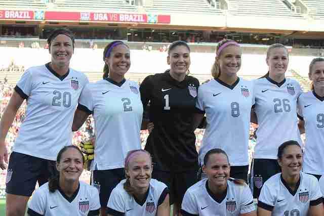 U.S.+Women%27s+National+Team+takes+on+Brazil