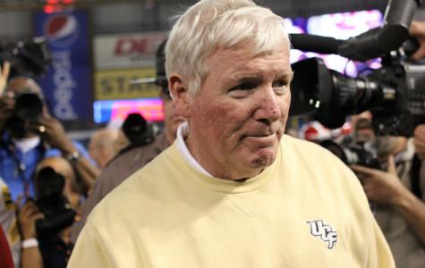 George O'Leary went 81-68 during his 12 years as UCF's head coach and led the team to a win in the 2014 Fiesta Bowl.