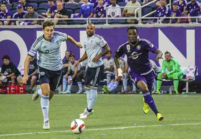 Cyle+Larin+leads+Orlando+City+with+14+goals+for+the+season.