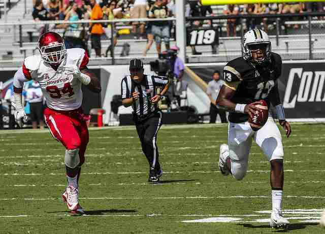 Justin+Holman+has+thrown+nine+interceptions+to+four+touchdowns+during+his+second+year+as+UCF%27s+starting+quarterback.