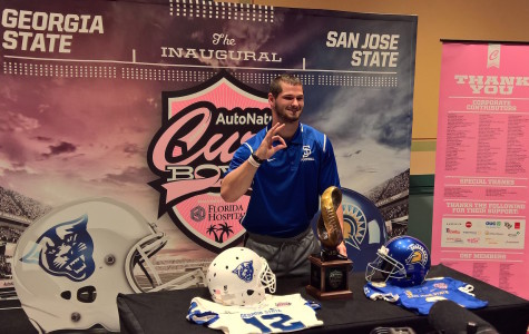 Cure Bowl's cause hits close to home for San Jose State's Simon Connette