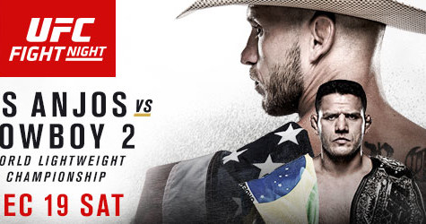 LIVE UPDATES: UFC on Fox 17: Dos Anjos vs. Cowboy 2