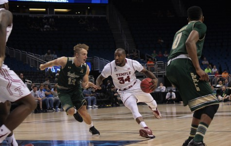 Devin Coleman finished the game with 10 points for the Temple Owls.