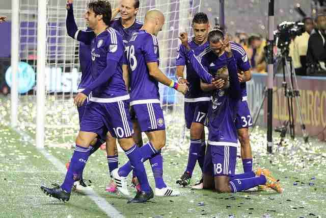 Kevin+Molino+%28No.+18%29+scored+his+first-ever+MLS+goal+on+Sunday+in+Orlando+City%27s+4-1+victory+over+Portland.