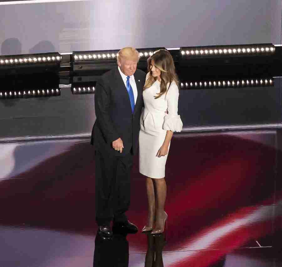 Melania+Trump+headlines+day+one+of+the+Republican+National+Convention