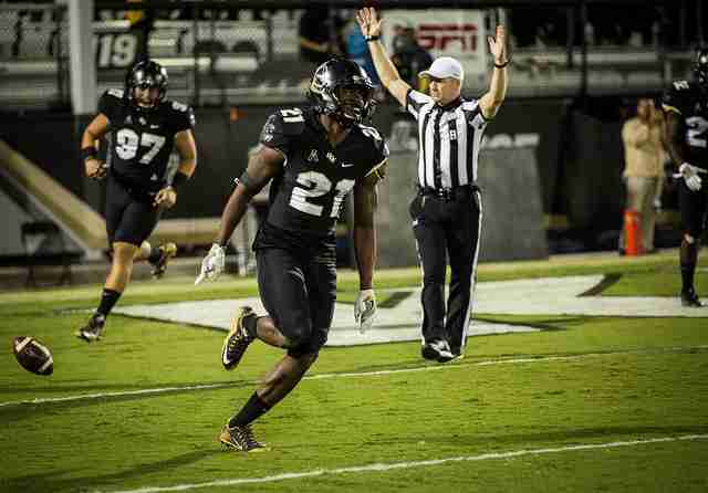 Drico Johnson became the first UCF player in program history to score two defensive touchdowns in the Knights win over Tulane.