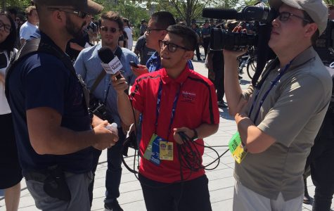 Valencia Voice staff report for the 2016 Republican National Convention in Cleveland, Ohio.