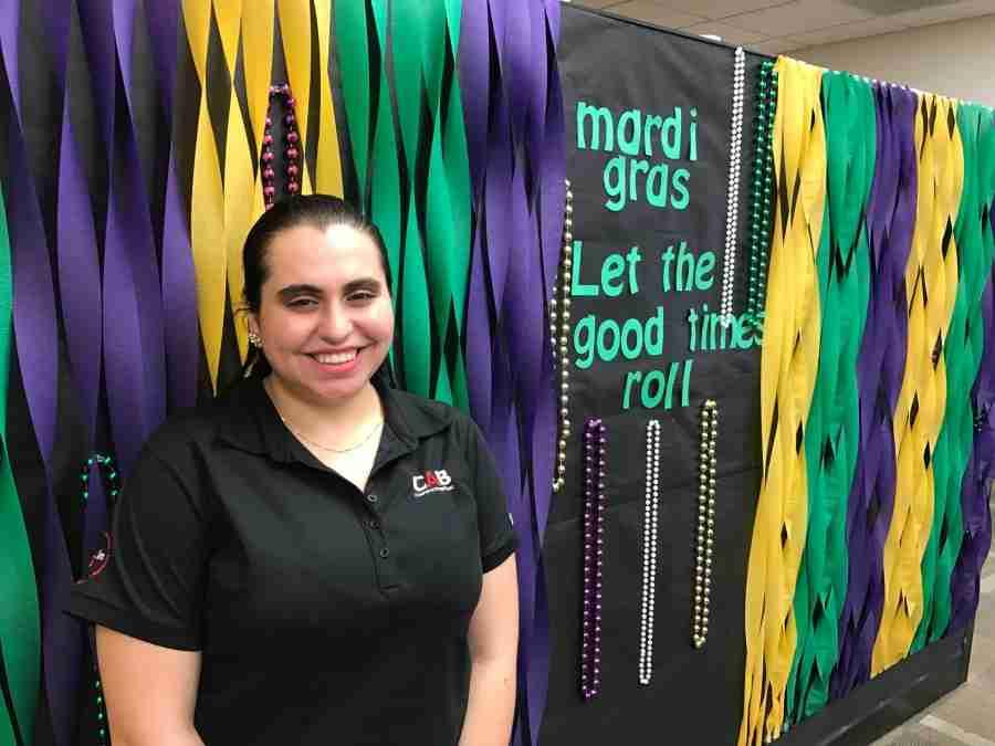 Mardi Gras Celebration Hits East Campus Tuesday