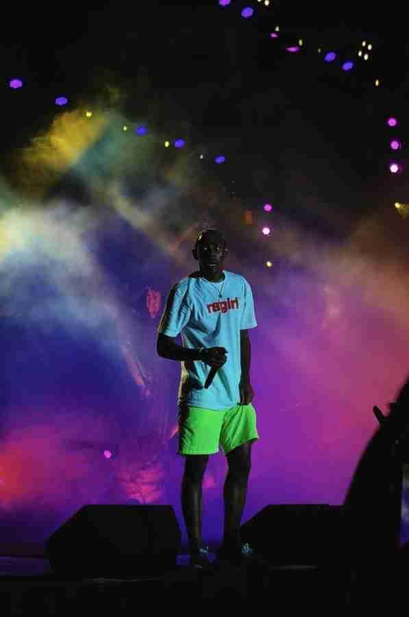 Tyler+the+Creator+Visits+Orlando+Amphitheatre