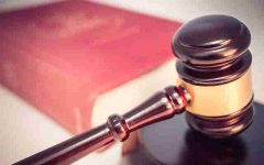 picture of a gavel and law book
