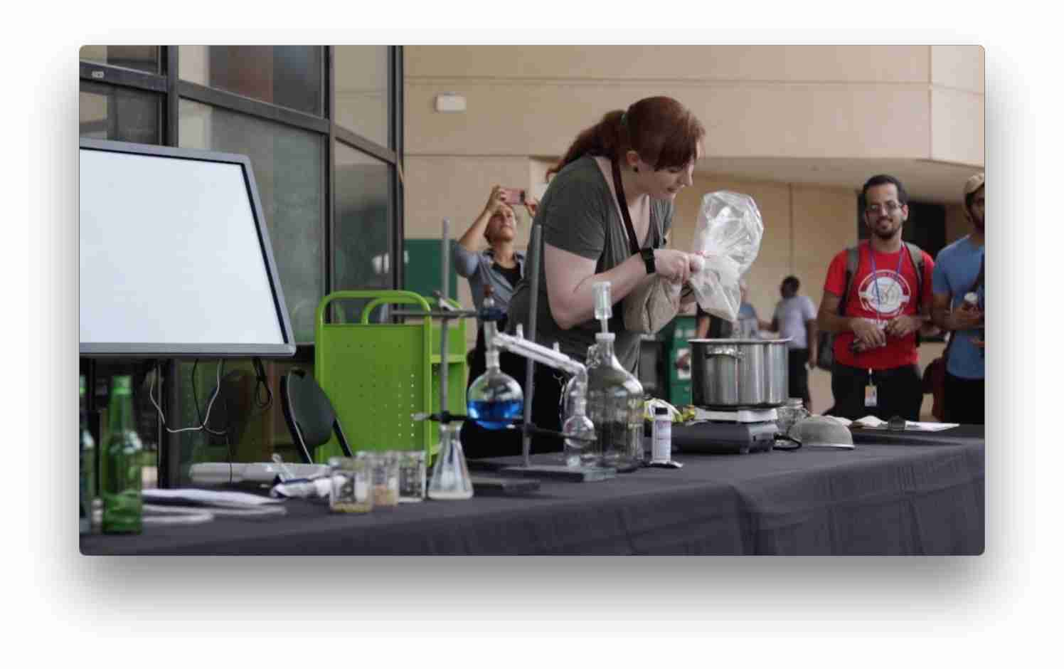 Science tutor Amanda Lantieri discusses the chemistry of beer-making.