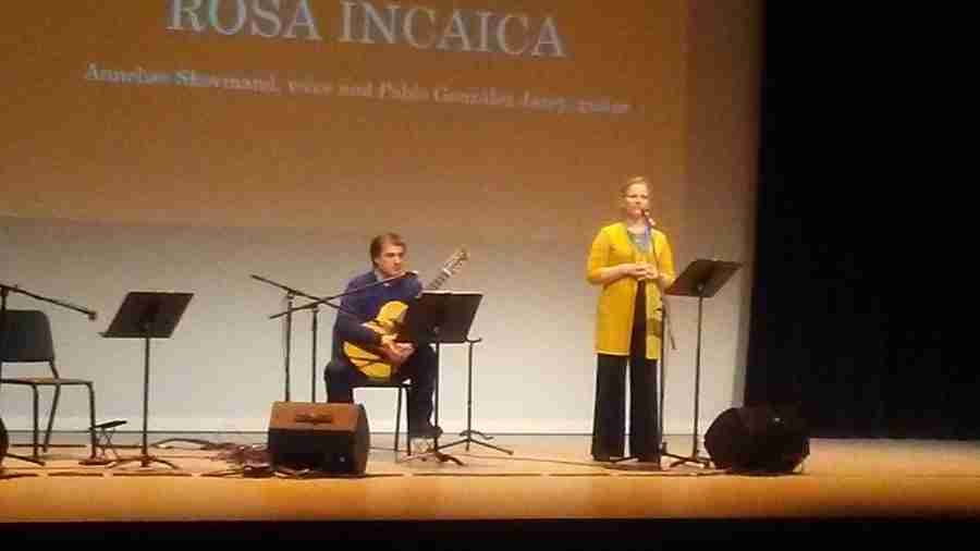 Rose+Incaica+performed+is+an+Argentinian+music+duo++