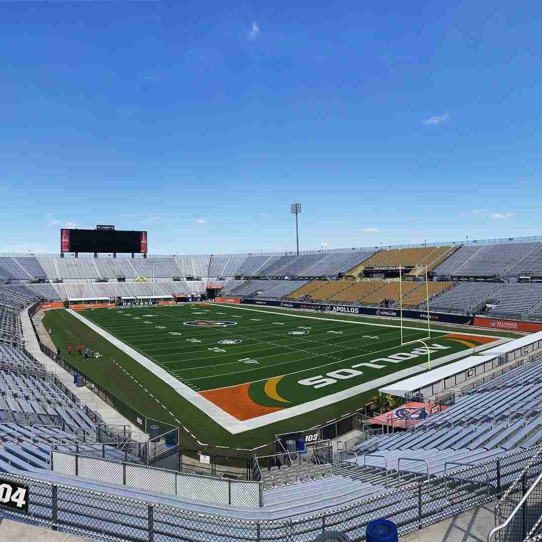 The Orlando Apollos will play their home games at UCF's Spectrum Stadium