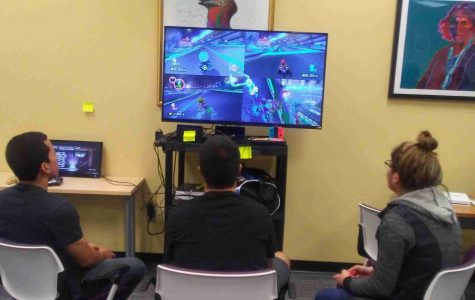 Pop Culture Club Holds March Madness Video Game Tournament