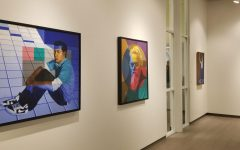 Tomengo's art is being showcased in Building 3 on Valencia College's East Campus
