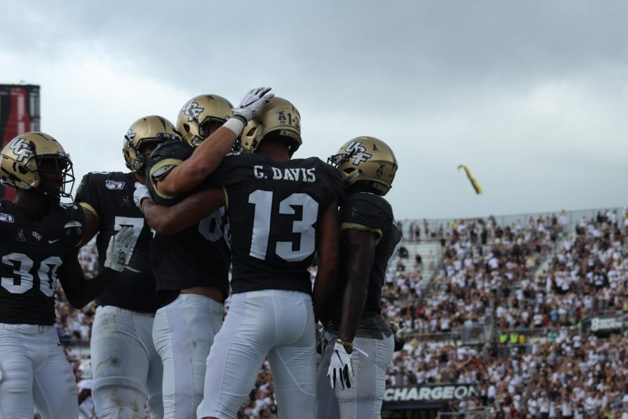 UCF will look to bounce back next week against UConn.