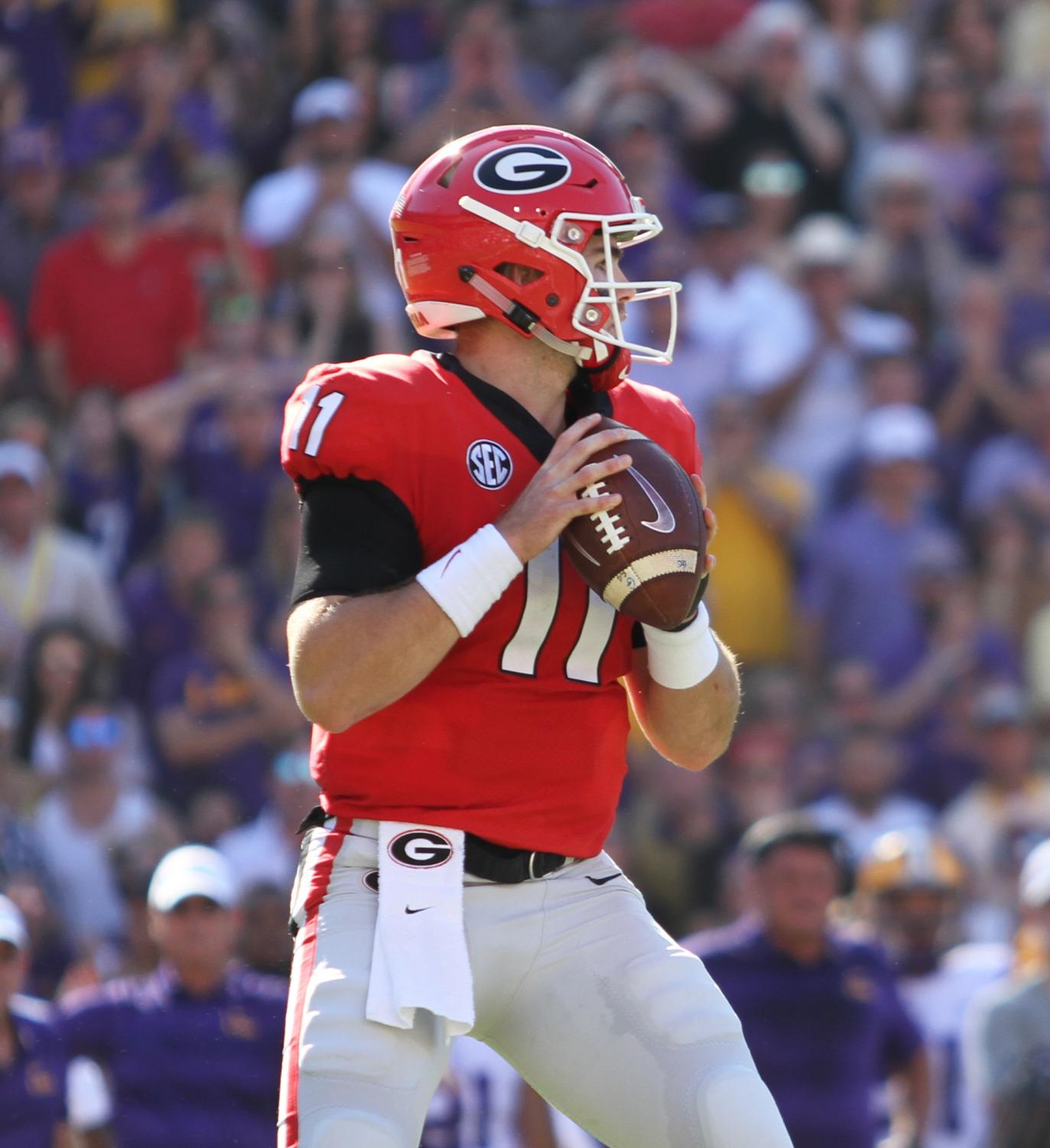 Georgia can still carve out a spot in the College Football Playoff if they win the SEC.
