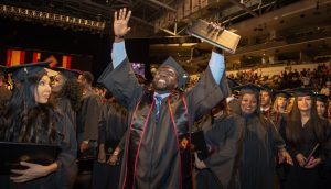 Valencia College celebrates its 50th annual Commencement ceremony at Addition Financial Arena on May 5, 2019 in Orlando, Fla.
