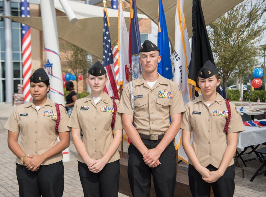 Veteran's Day event held on the West campus of Valencia College on November 9, 2017 in Orlando, Fla.