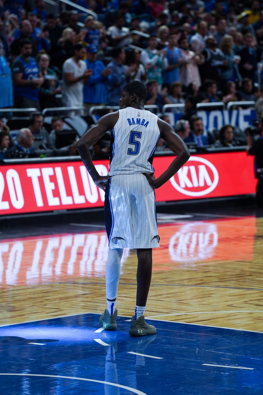 Orlando Magic center Mo Bamba (No. 5)