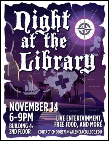 East Campus to Host Night at the Library