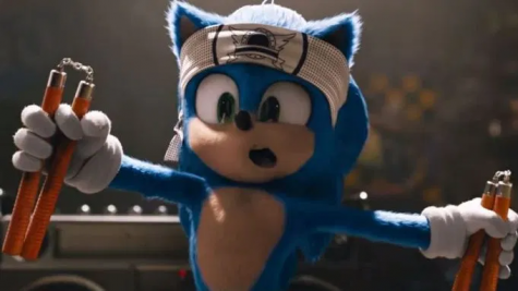 Sonic the Hedgehog is looking more like himself