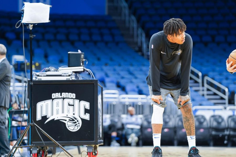 Orlando's Markelle Fultz during the pre-game warm-up.